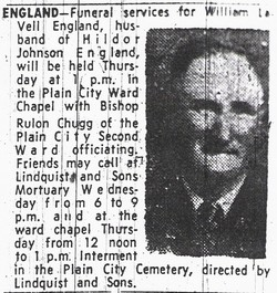 William Lavell England