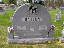 Alma <i>Hatfield</i> Barton