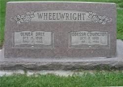 Ruth Odessa <i>Covington</i> Wheelwright