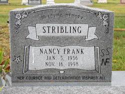 Nancy Frank Stribling