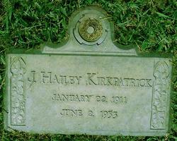 James Hailey Kirkpatrick