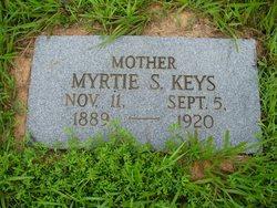 Myrtie S <i>Gillham</i> Keys
