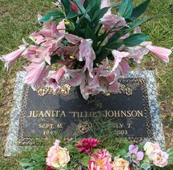 Juanita Tillie Johnson