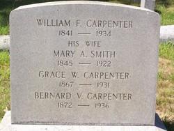 Mary A <i>Smith</i> Carpenter