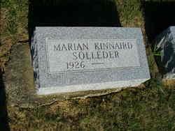 Marian <i>Kinnaird</i> Solleder