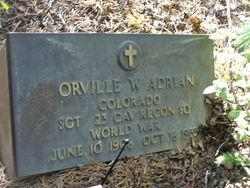 Sgt Orville W Adrian