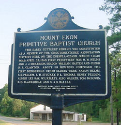 Mount Enon Primitive Baptist Church Cemetery