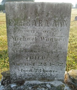 Barbara Ann <i>Snyder</i> Wagner