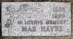 Mae <i>Houser</i> Hayes