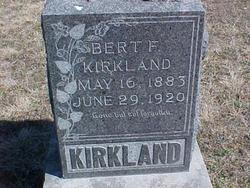 Bert F Kirkland