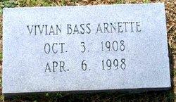 Vivian <i>Bass</i> Arnette