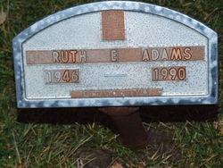 Ruth Ellen <i>Hamilton</i> Adams