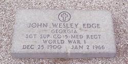 John Wesley Edge