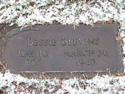 Bessie L <i>Ellis</i> Blevins