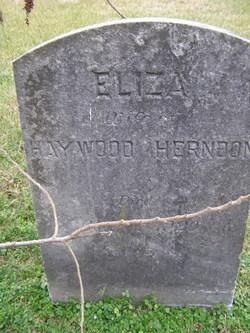 Elizabeth Frances Eliza <i>Bridwell</i> Herndon
