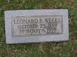 Leonard Reading Weeks