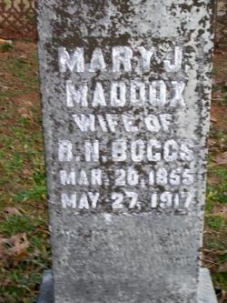 Mary Jane <i>Maddox</i> Boggs
