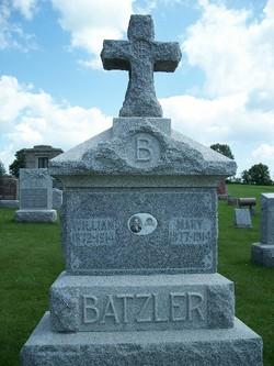 Mary <i>Peter</i> Batzler