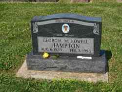 Georgia Marie <i>Howell</i> Hampton