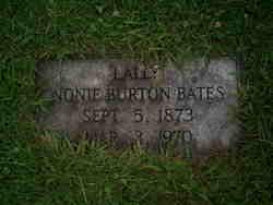 Nonie Belle <i>Burton</i> Bates