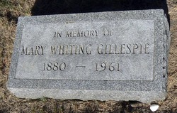Mary <i>Whiting</i> Gillespie