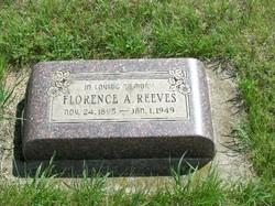 Florence Alberta <i>Baughman</i> Reeves