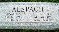 Edward A. Alspach