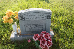 Rosie Lee <i>Farris</i> Abshire