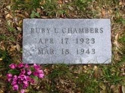 Ruby L. Chambers