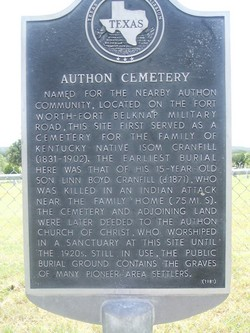 Authon Cemetery