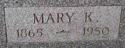 Mary <i>Krabbe Schultz</i> Adams