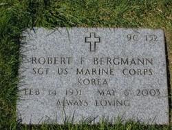 Sgt Robert Francis Bergmann