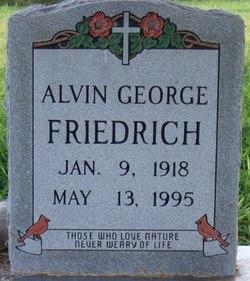 Alvin George Friedrich