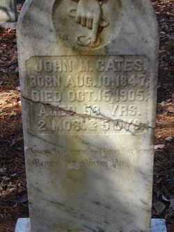 John M Cates