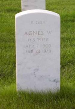 Agnes W Adams