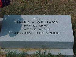 Pvt James Alvin Jamey Williams