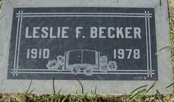Leslie Frederick Becker