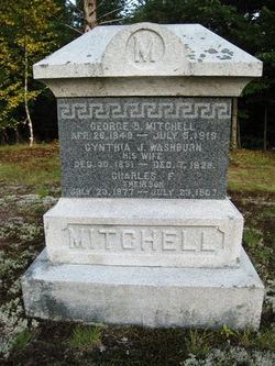 Cynthia J <i>Washburn</i> Mitchell