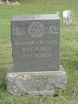 Martha Patsy <i>Harrison</i> Allred