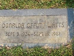 Donalda Offutt Watts