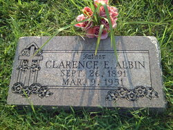 Clarence Edwin Albin