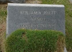 Benjamin <i>Rhett</i> Hasell