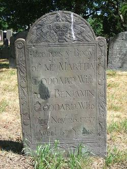 Martha <i>Palfrey</i> Goddard