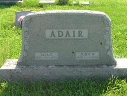 Ella E <i>Knapp</i> Adair