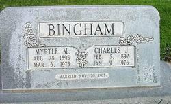 Myrtle Maria <i>Silcock</i> Bingham
