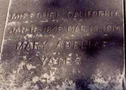 Mary Adeline <i>Conner</i> Yates