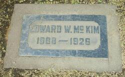 Edward W McKim