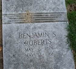 Benjamin Shaddrack Roberts