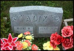 Mayme Marie <i>Randall</i> Alix