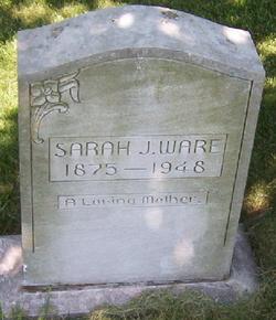 Sarah Jane <i>Carman</i> Ware